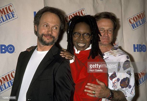 Billy Crystal Whoopi Goldberg and Robin Williams