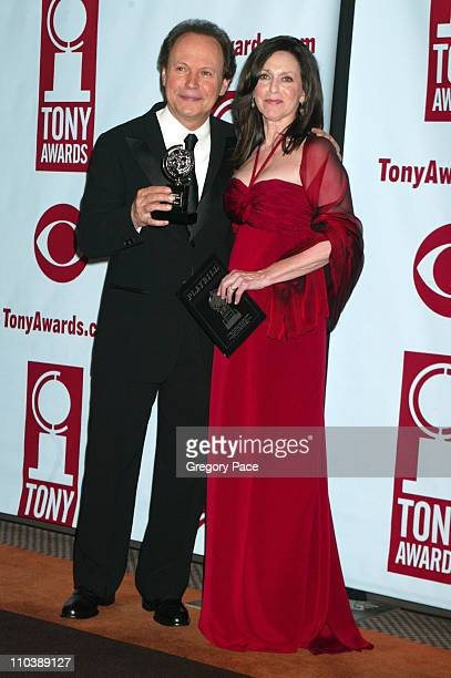 """Billy Crystal, winner Best Special Theatrical Event for """"700 Sundays"""" and Janice Crystal"""