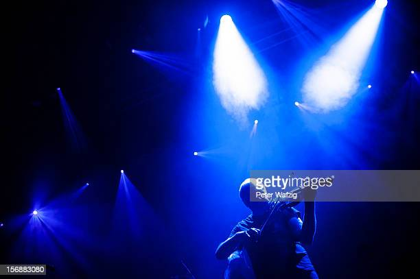Billy Currie of Ultravox performs on stage at the EWerk on November 07 2012 in Cologne Germany