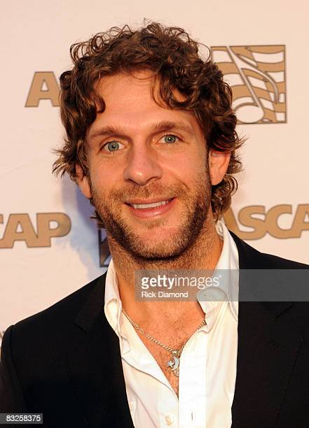 Billy Currington on The Red Carpet at the 46th Annual ASCAP Country Music Awards at the Ryman Auditorium on October 13 2008 in Nashville Tennessee