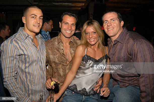 Billy Cutrone Diane Viscovich and Michael Kool attend Style Me with Rachel Hunter and the NYC Fire Department 2006 Calendar Men To Celebrate Jhane...