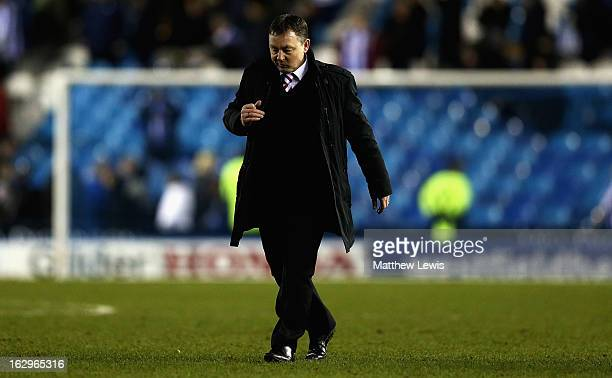 Billy Davies manager of Nottingham Forest looks on after the npower Championship match between Sheffield Wednesday and Nottingham Forest at...