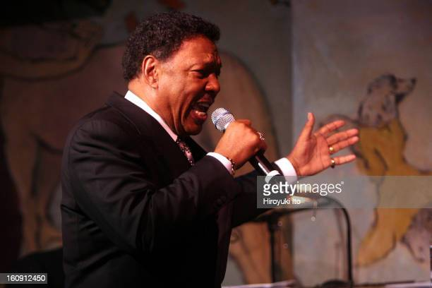 Billy Davis Jr performing at Cafe Carlyle on Tuesday night May 13 2008