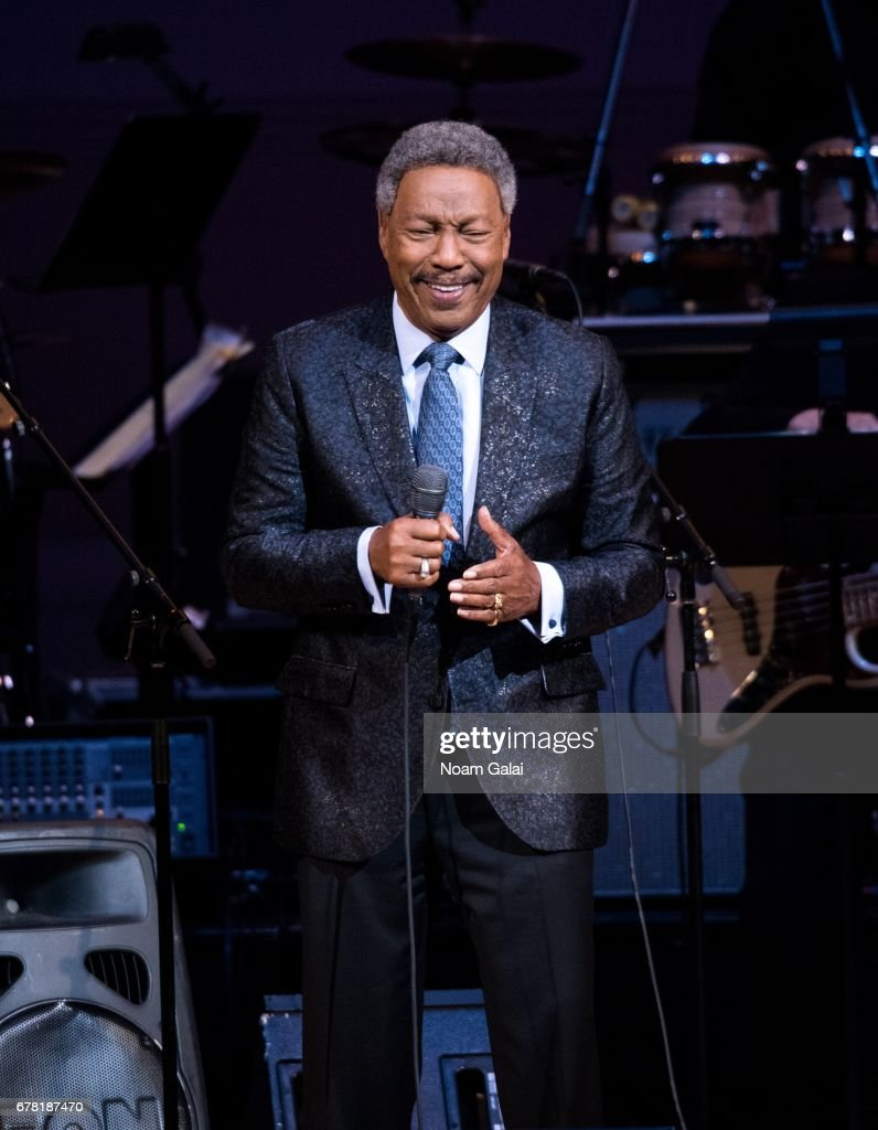 Billy Davis Jr. performs during a tribute concert honoring Jimmy Webb at Carnegie Hall on May 3, 2017 in New York City.