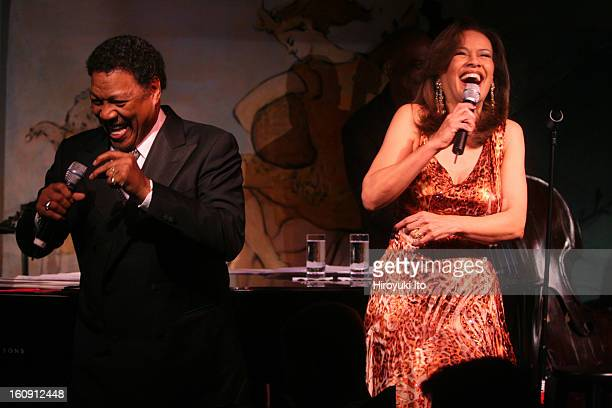 Billy Davis Jrand Marilyn McCoo performing at Cafe Carlyle on Tuesday night May 13 2008