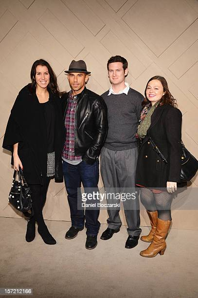 Billy Dec and guests attend the Burberry launch of the Chicago flagship store on November 29, 2012 in Chicago, Illinois.