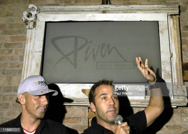 Billy Dec and Jeremy Piven attend the 2009 Piven Theatre Workshop Benefit at Rockit Bar & Grill on June 20, 2009 in Chicago, Illinois.