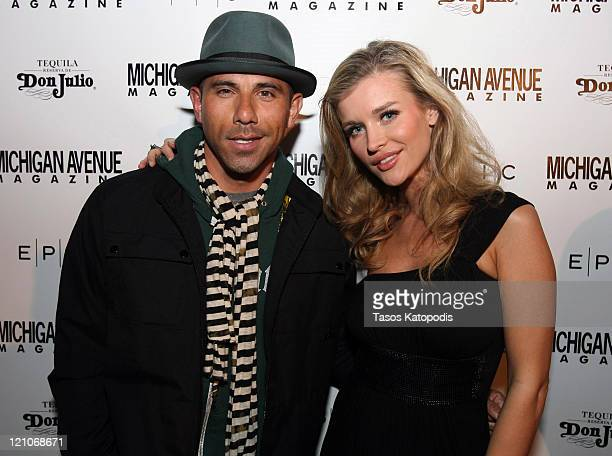 Billy Dec and Joanna Krupa attend the Michigan Avenue Magazine March cover celebration at EPIC on March 3, 2010 in Chicago, Illinois.