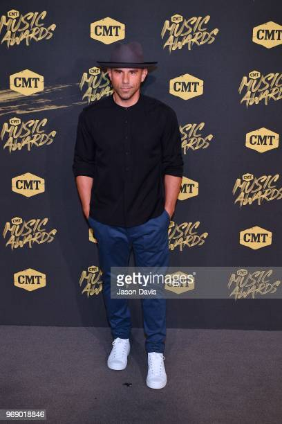 Billy Dec arrives at the 2018 CMT Music Awards at Bridgestone Arena on June 6 2018 in Nashville Tennessee