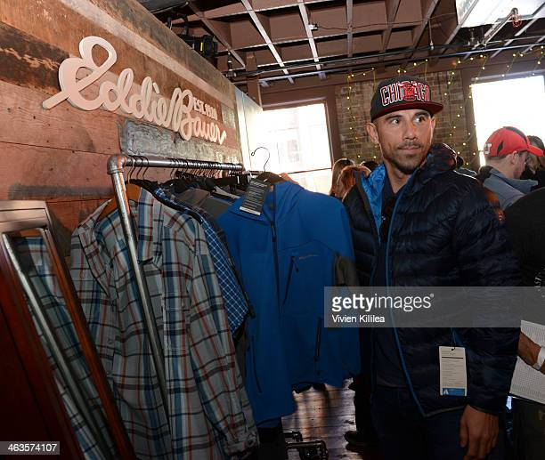 Billy Dec attends The Eddie Bauer Adventure House Day 2 2014 Park City on January 18 2014 in Park City Utah