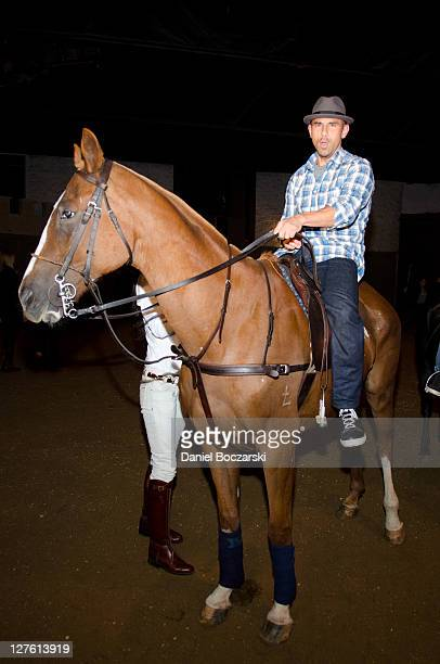 Billy Dec attends the GREY GOOSE Blue Door Series Chicago Beach Polo Clinic at the Noble Horse Theatre on September 29 2011 in Chicago Illinois