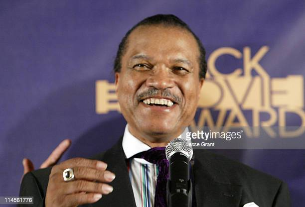 Billy Dee Williams 12557_JG_0225jpg during 2006 TNT Black Movie Awards Press Room at Wiltern Theatre in Los Angeles California United States