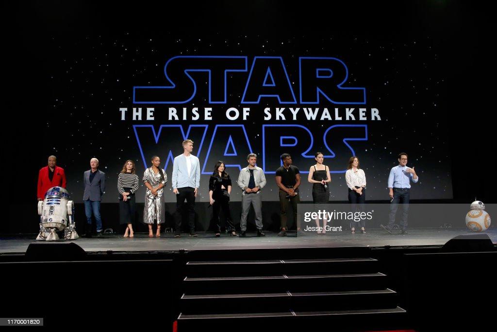 Disney Studios Showcase Presentation At D23 Expo, Saturday August 24 : News Photo