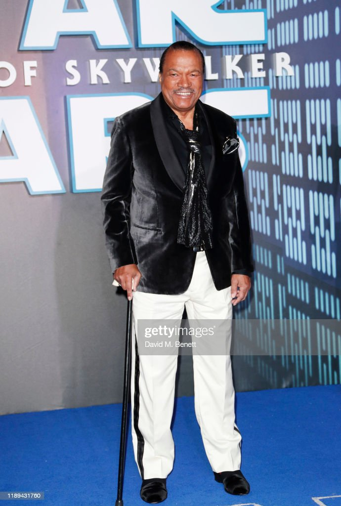 Billy Dee Williams attends the European Premiere of Star