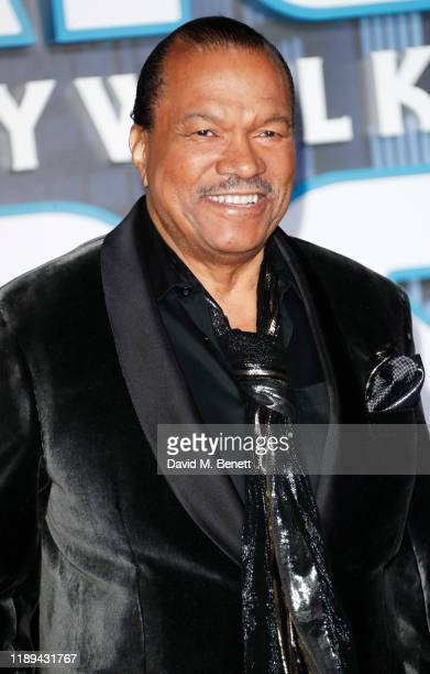 Billy Dee Williams attends the European Premiere of Star Wars The Rise of Skywalker at Cineworld Leicester Square on December 18 2019 in London...