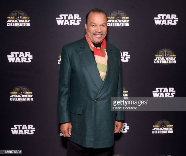 Billy Dee Williams attends The Rise of Skywalker panel at the Star Wars Celebration at McCormick Place Convention Center on April 12 2019 in Chicago...