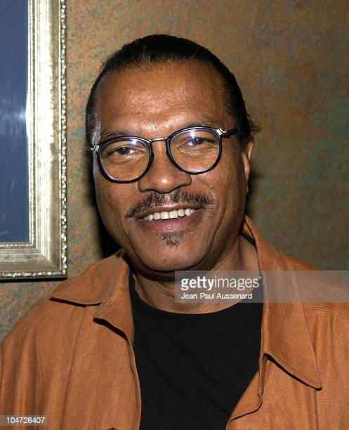 Billy Dee Williams during VH1's Pilot The Hill Harper Show Screening Party at BB Kings Blues Club in Universal City California United States