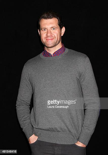 Billy Eichner attends AOL Build Presents 'Billy On The Street' at AOL Studios In New York on October 6 2015 in New York City