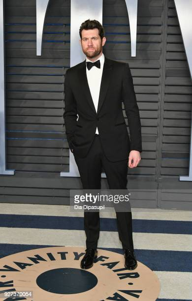 Billy Eichner attends the 2018 Vanity Fair Oscar Party hosted by Radhika Jones at Wallis Annenberg Center for the Performing Arts on March 4 2018 in...
