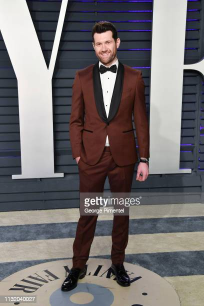 Billy Eichner attends the 2019 Vanity Fair Oscar Party hosted by Radhika Jones at Wallis Annenberg Center for the Performing Arts on February 24 2019...