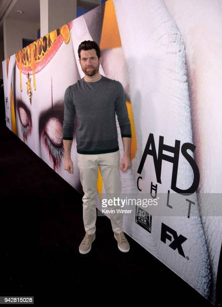 Billy Eichner attends the 'American Horror Story Cult' For Your Consideration Event at The WGA Theater on April 6 2018 in Beverly Hills California
