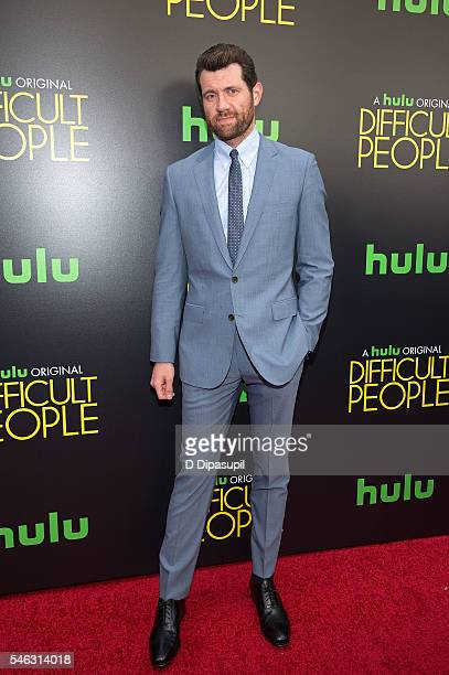 Billy Eichner attends the 'Difficult People' New York premiere at The Metrograph on July 11 2016 in New York City