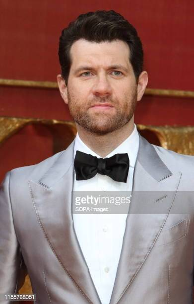 Billy Eichner attends the European Premiere of Disney's The Lion King at the Odeon Luxe cinema Leicester Square in London