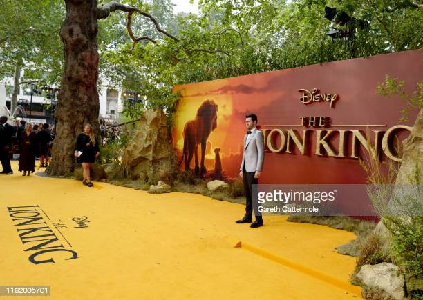 "Billy Eichner attends the European Premiere of Disney's ""The Lion King"" at Odeon Luxe Leicester Square on July 14, 2019 in London, England."