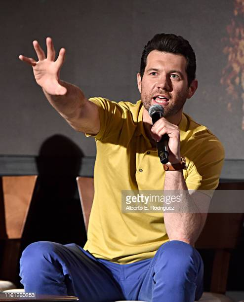 Billy Eichner attends the Global Press Conference for Disney's THE LION KING on July 10 2019 in Beverly Hills California