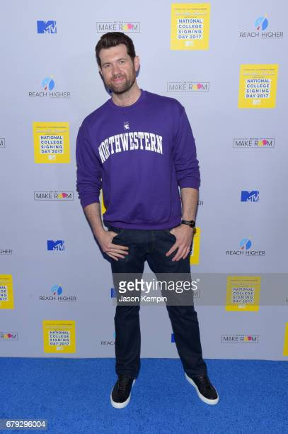 Billy Eichner attends the MTV's 2017 College Signing Day With Michelle Obama at The Public Theater on May 5 2017 in New York City