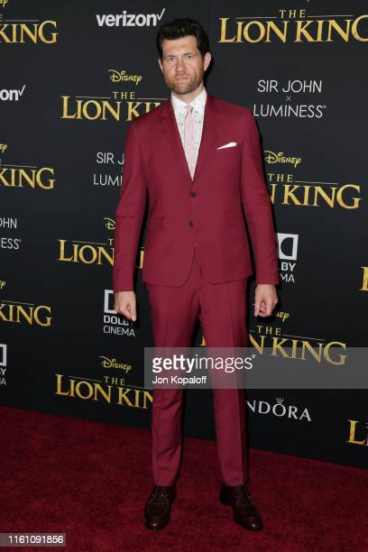 Billy Eichner attends the Premiere Of Disney's The Lion King at Dolby Theatre on July 09 2019 in Hollywood California