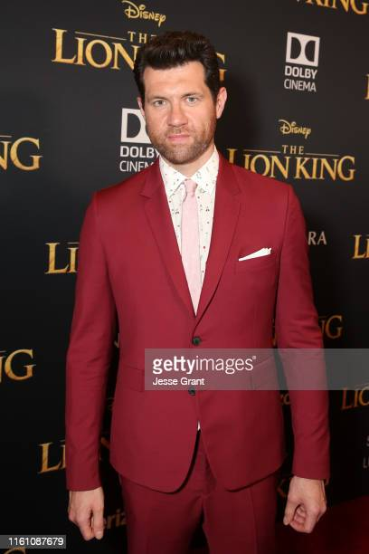 Billy Eichner attends the World Premiere of Disney's THE LION KING at the Dolby Theatre on July 09 2019 in Hollywood California