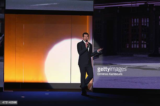 Billy Eichner speak at the Turner Upfront 2015 at Madison Square Garden on May 13 2015 in New York City JPG