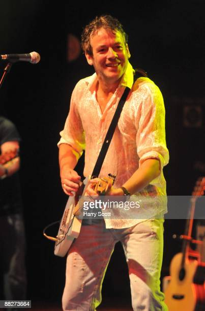 Billy Franks performs on stage at Shepherds Bush Empire on June 6 2009 in London England