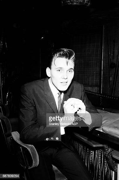 Billy Fury portrait London circa 1965