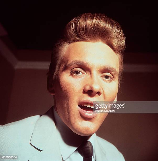 Billy Fury the English rock and ballad singer