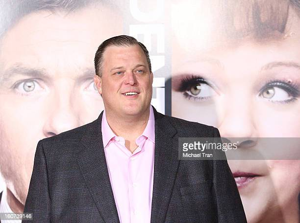 """Billy Gardell arrives at the Los Angeles premiere of """"Identity Thief"""" held at Mann Village Theatre on February 4, 2013 in Westwood, California."""