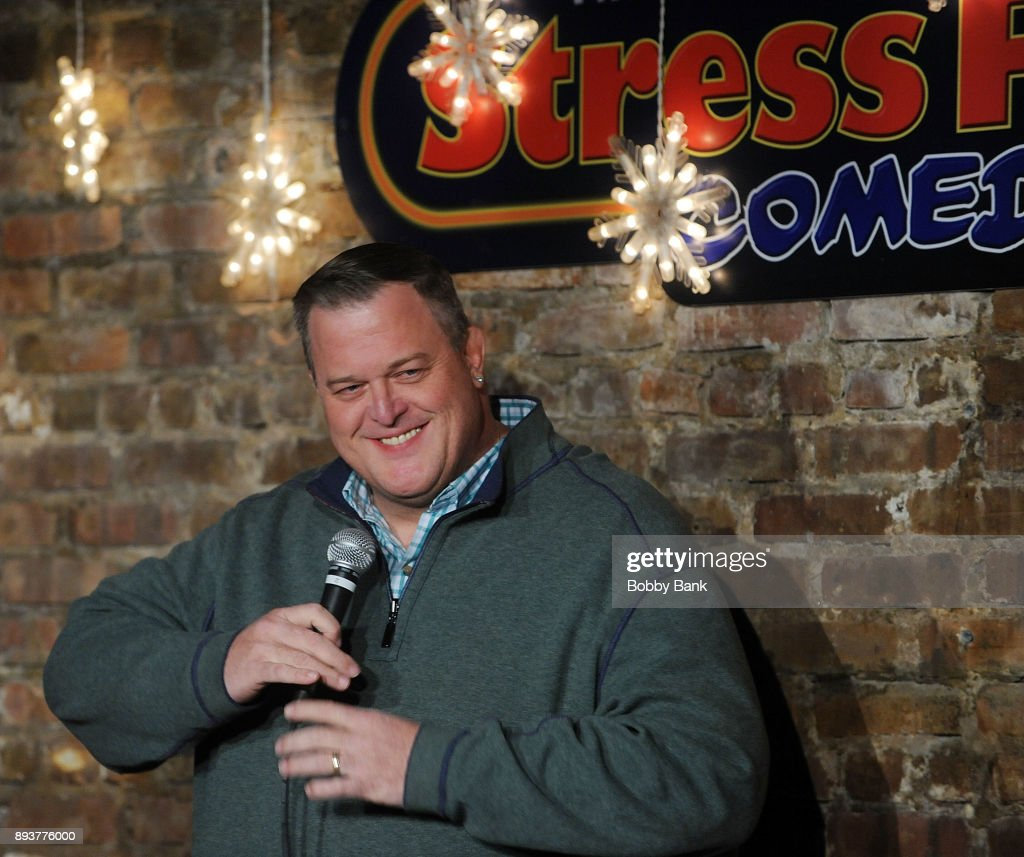 Billy Gardell Performs At The Stress Factory Comedy Club