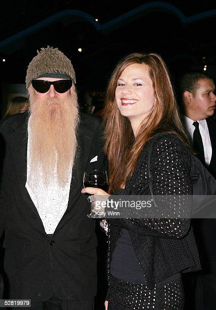 Billy Gibbons and Gilligan Stillwater attend Petersen Automotive Museum's 2005 Cars and Stars Gala May 12 2005 in Los Angeles California Guests at...