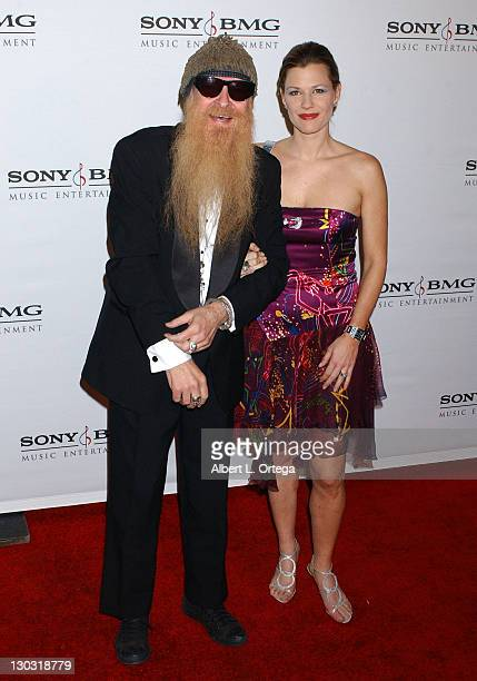 Billy Gibbons and Gilligan Stillwater during 2006 Sony/BMG GRAMMY After Party Arrivals at Roosevelt Hotel in Hollywood California United States