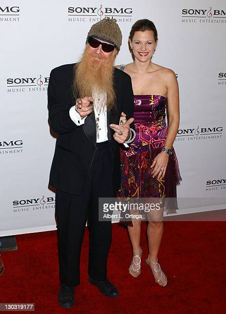 Billy Gibbons and Gilligan Stillwater during 2006 Sony/BMG GRAMMY After Party - Arrivals at Roosevelt Hotel in Hollywood, California, United States.