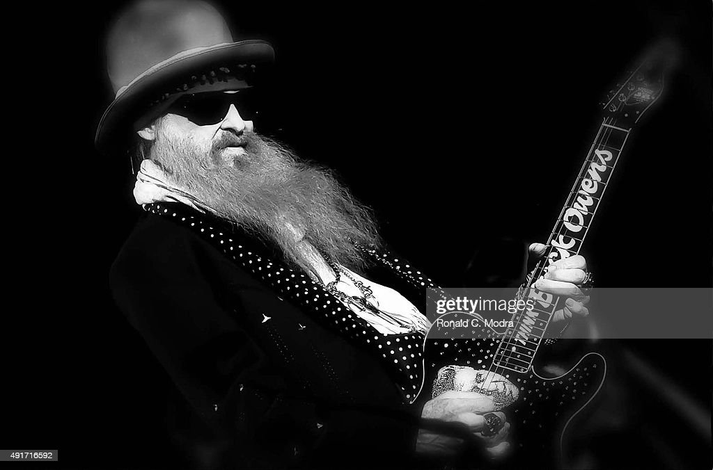 Billy Gibbons of ZZ Top performs on January 28, 2014 in Nashville, Tennessee.