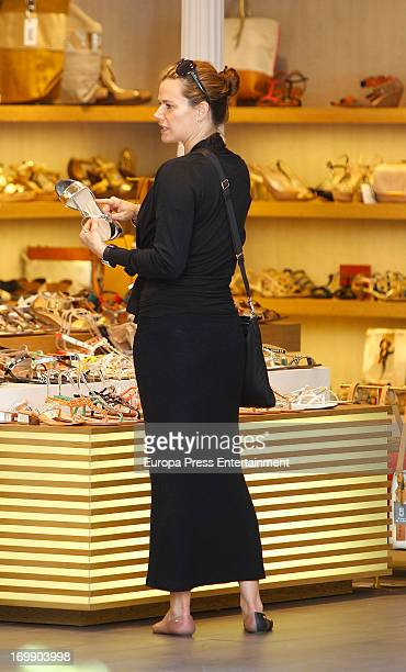 Billy Gibbons's wife Gilligan Stillwater is seen on June 3, 2013 in Madrid, Spain.