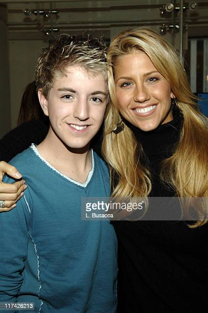 Billy Gilman and Shannon Brown during The 39th Annual CMA Awards Luncheon at Sirius Satellite Radio at Sirius Satellite Radio Offices in New York...