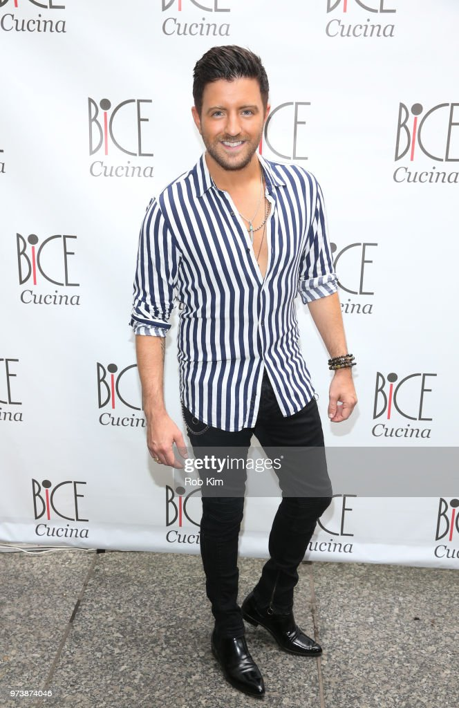 Billy Gilman attends Bice Cucina Restaurant Opening on June 13, 2018 in New York City.