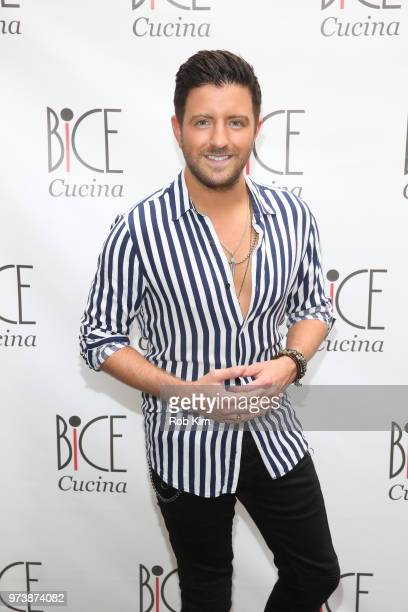 Billy Gilman attends Bice Cucina Restaurant Opening on June 13 2018 in New York City