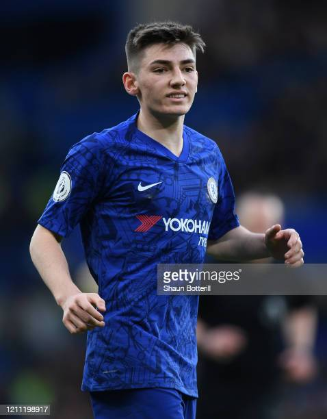 Billy Gilmour of Chelsea during the Premier League match between Chelsea FC and Everton FC at Stamford Bridge on March 08 2020 in London United...