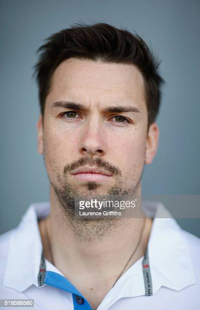 Billy Godleman of Derbyshire CCC poses for a portrait during a media day at The County Ground on April 7 2016 in Derby England