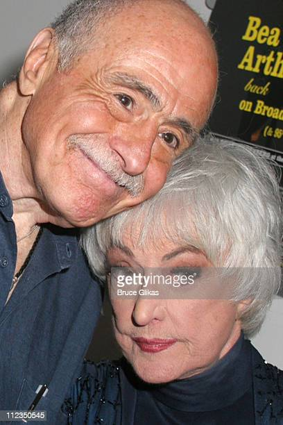 Billy Goldenberg pianist and Bea Arthur during Bea Arthur Back on Broadway A Benefit for The Ali Forney Center at Symphony Space in New York City New...