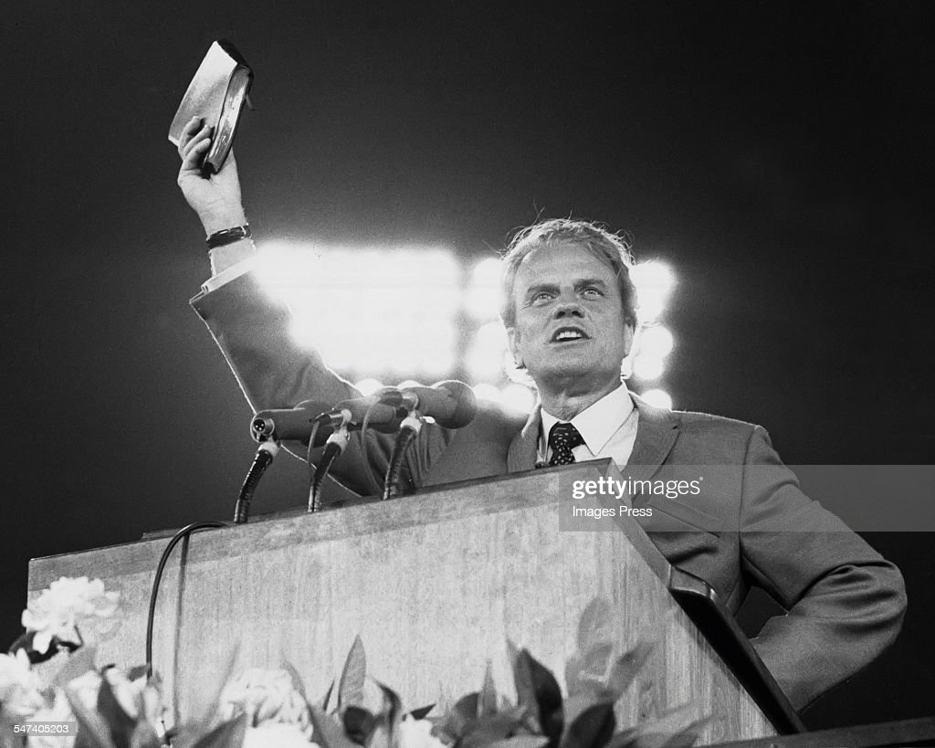 Billy Graham... : News Photo